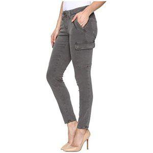 Mavi Jeans Juliette Skinny Cargo in Grey Twill